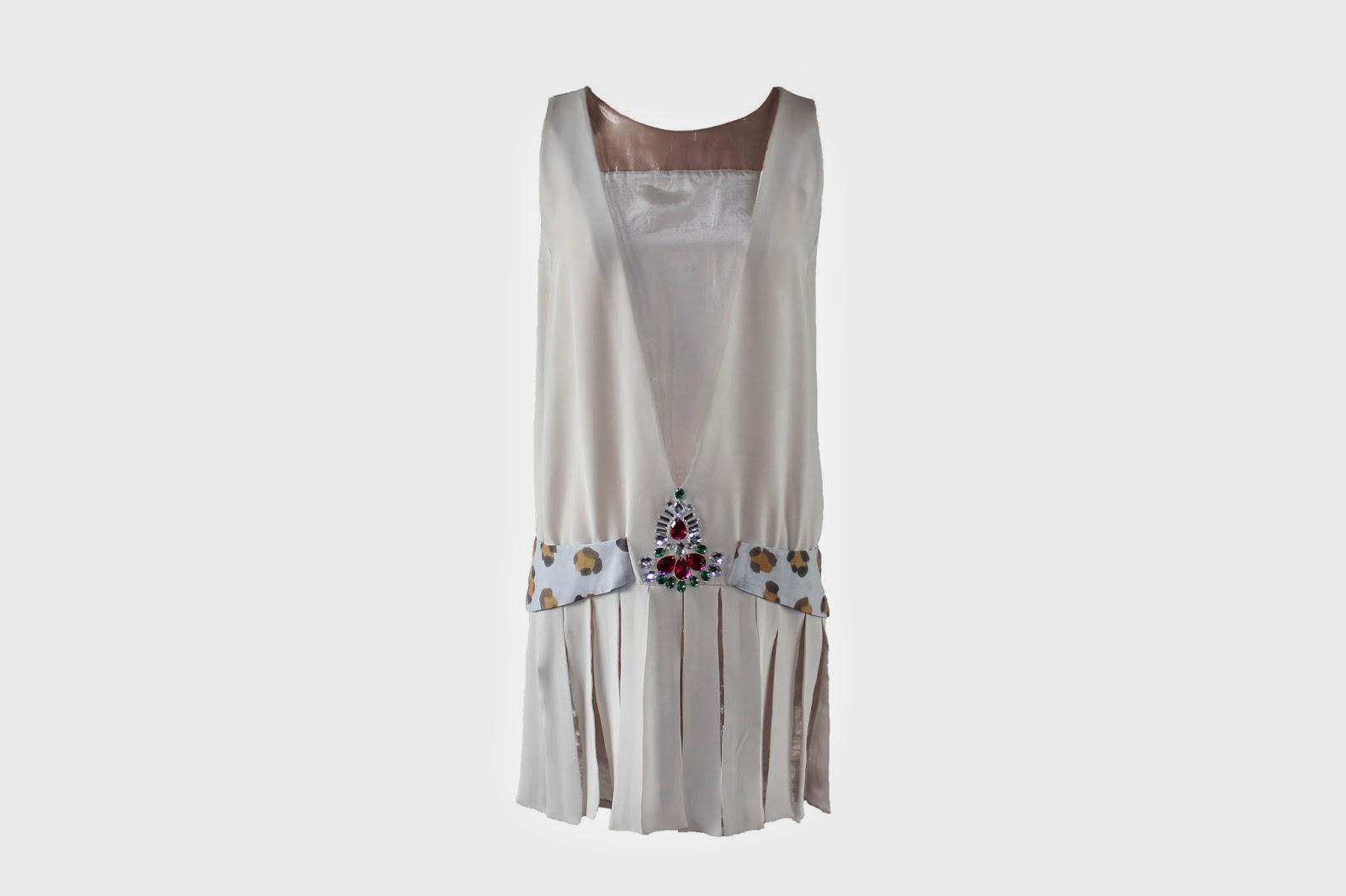 Vestido de Cristina Piña disponible en Lamasmona.com