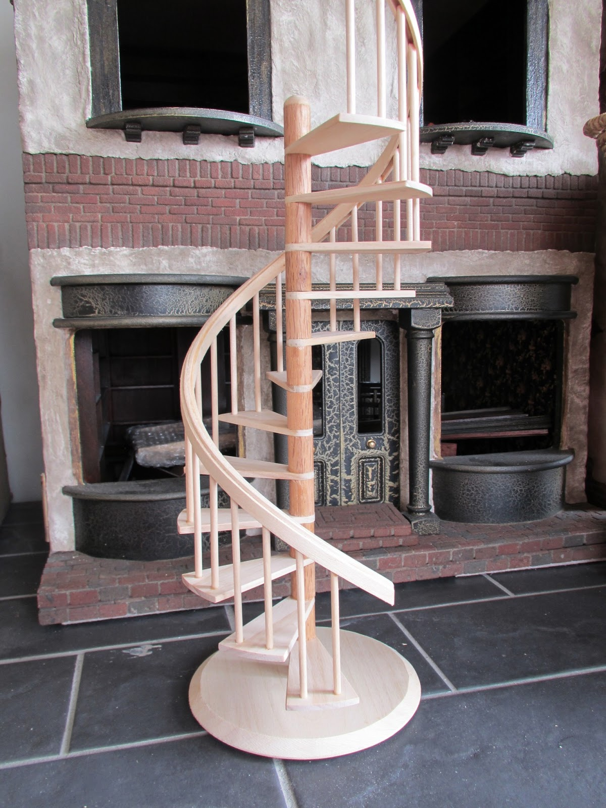 Honeydukes Planning Continues.......The Spiral Staircase Has Landed!!
