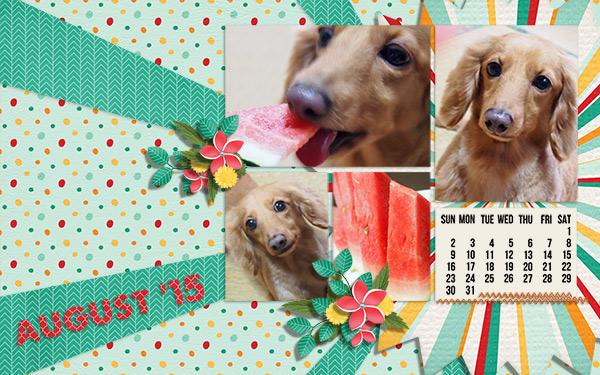 Aug-2015 Calendar
