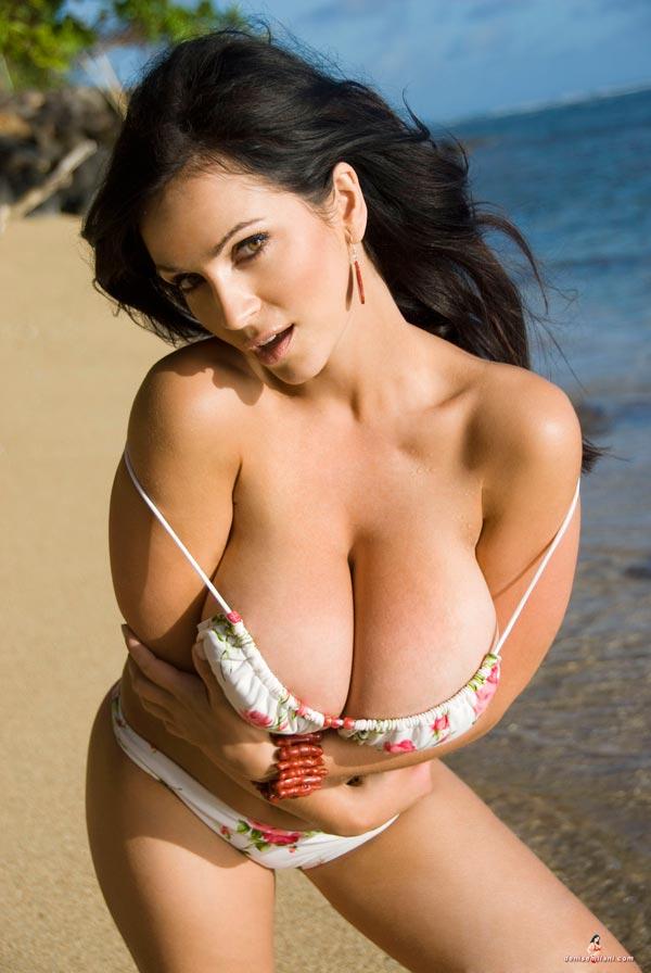 Denise milani nude photo shoot