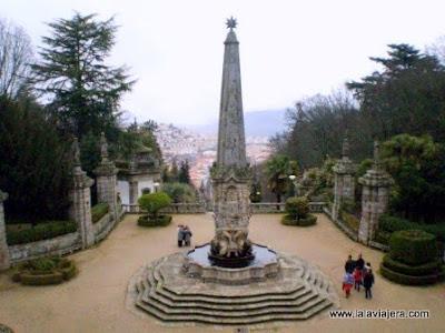 Fuente Gigantes Largo dos Reis, Lamego