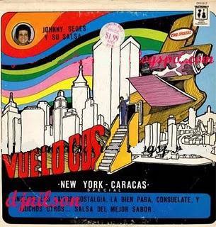 Johnny Sedes Vuelo CBS New York Caracas