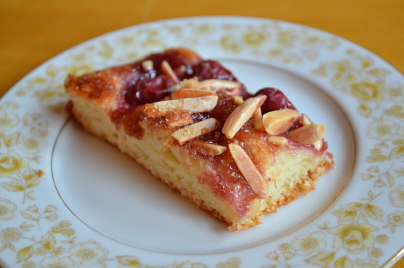 The Virtual Goody Plate: Cherry-Almond Focaccia
