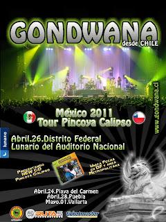 Gondwana en mexico df