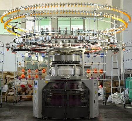 Jacquard circular knitting machine