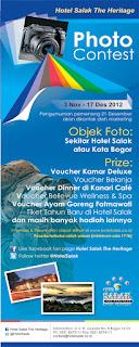 Hotel Salak photo contest
