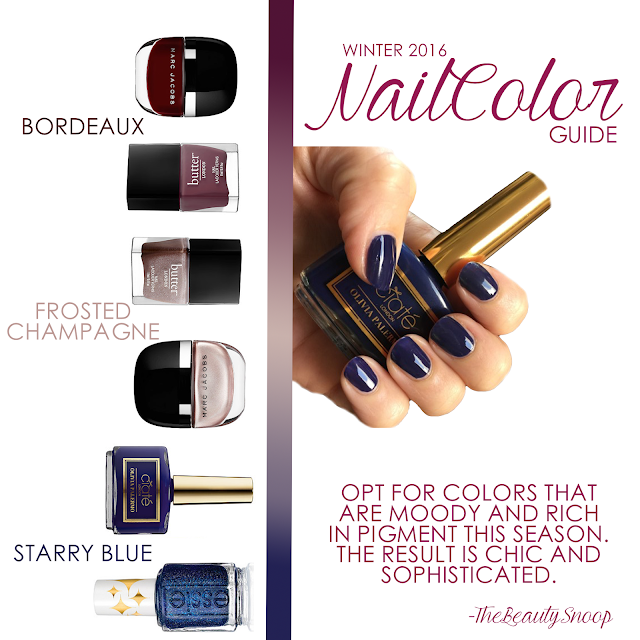 PAINT THE TOWN WITH THESE NAIL COLORS
