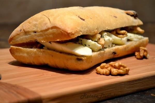 sandwich mozzarella nuci italia