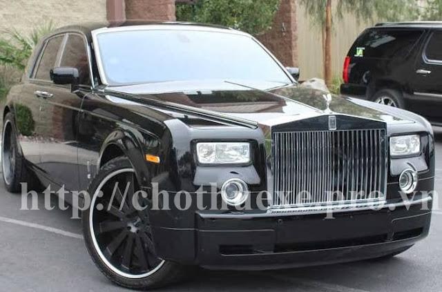 Cho thuê xe Roll Royce siêu Vip tại hà nội