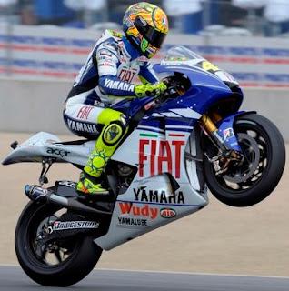 Valentino Rossi with Yamaha
