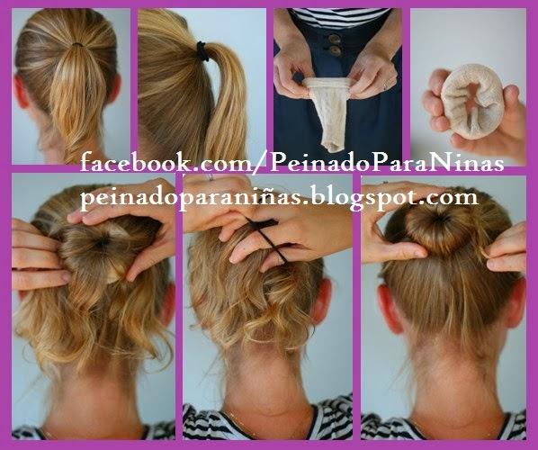 PEINADOS PARA NIÑA PASO A PASO YouTube - Aprende Hacer Peinados Para Niñas