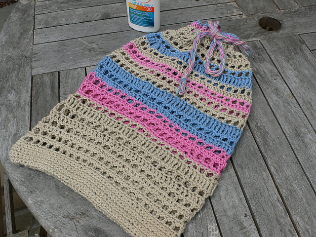 Crochet Pattern For Bingo Bag : Crocheting Conversations: Beach Blanket Bingo!