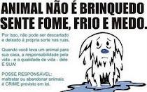 OS ANIMAIS SÃO OBRA DE DEUS