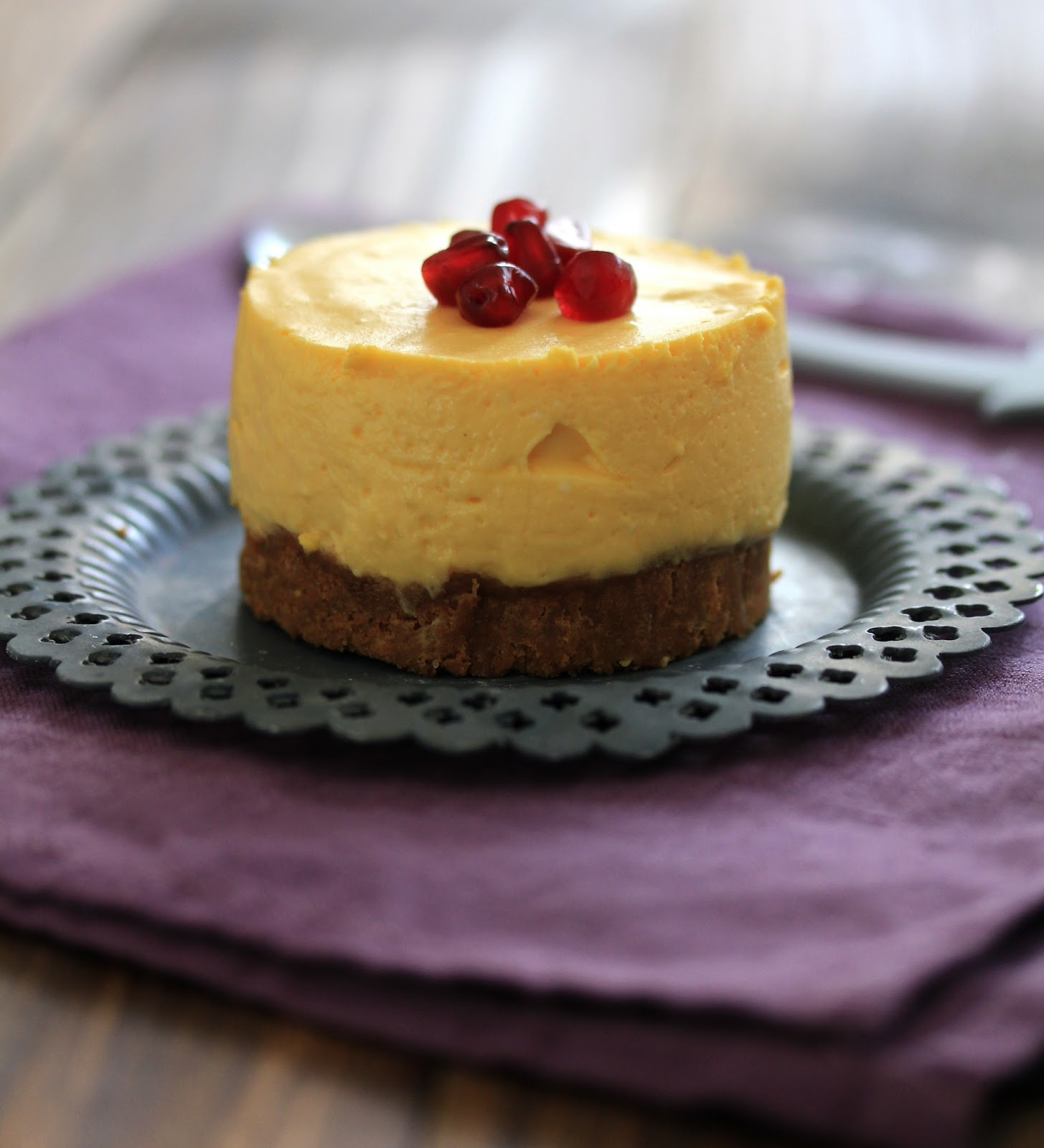 Cheesecake individuel mangue citron et sp culoos sans cuisson ideoz voyages - Cheesecake sans cuisson speculoos ...