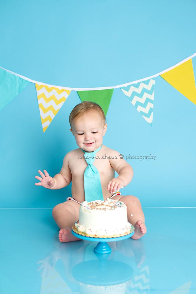 eugene or baby photography cake