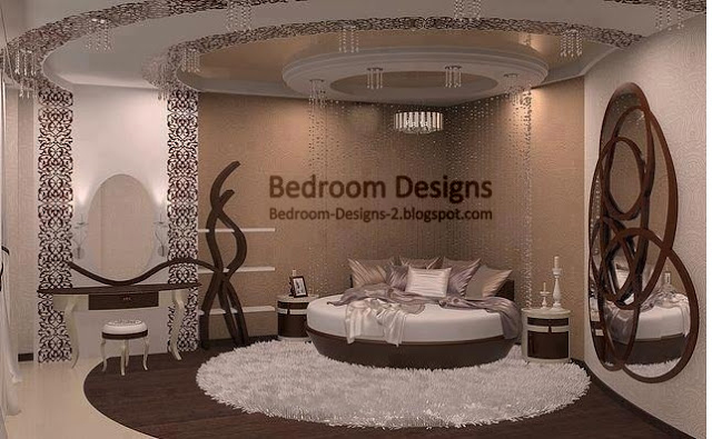 Master Bedroom Design Ideas Round Bed And Round Ceiling