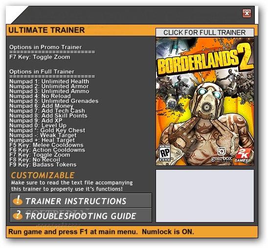 Best Game Hacks Borderlands Pre Sequel Pc Trainer