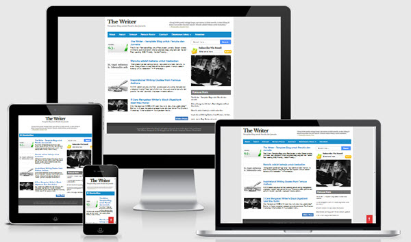 The Writer Responsive Blogger Template