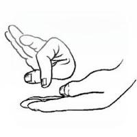 Magia mover el dedo pulgar