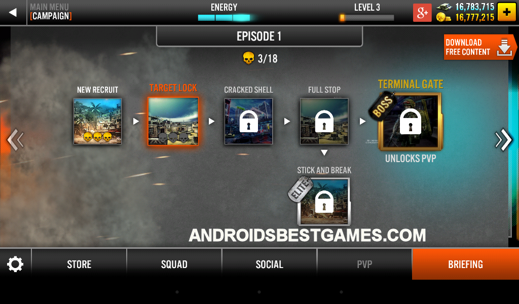 Hack Screenshot Frontline Commando 2
