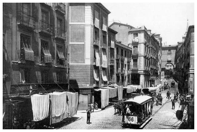 Calle de Toledo, Madrid 1890