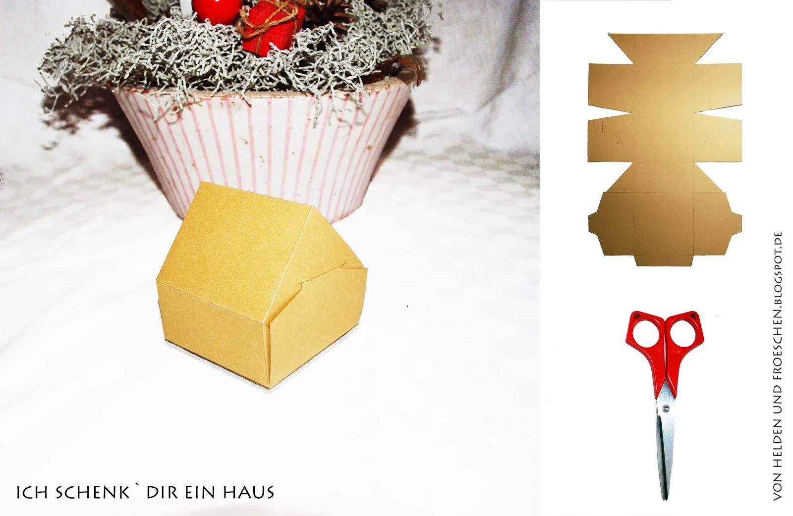 Geschenk Zum Hausbau. Haus Gemacht Geschenk Zum Einzug With Geschenk ...