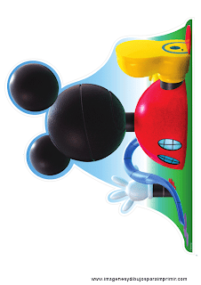 Mickey mouse clubhouse para imprimir
