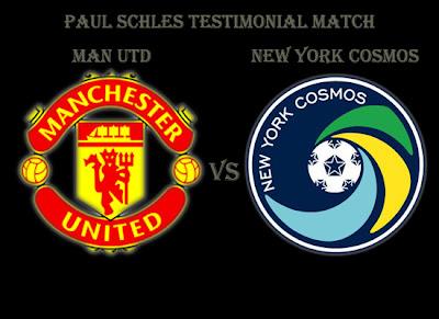 Paul Schles Testimonial Man Utd vs New York Cosmo
