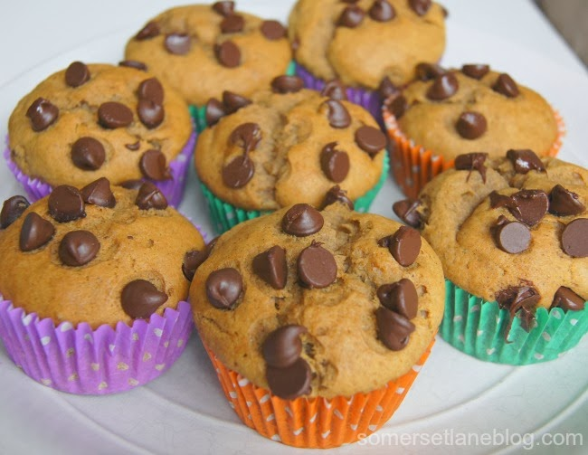 Easy Banana Chocolate Chip Muffins Recipe