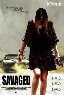 Savaged 2013 poster