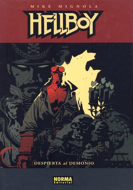 Portada del Tomo 2 Cartoné de Hellboy Editorial Norma