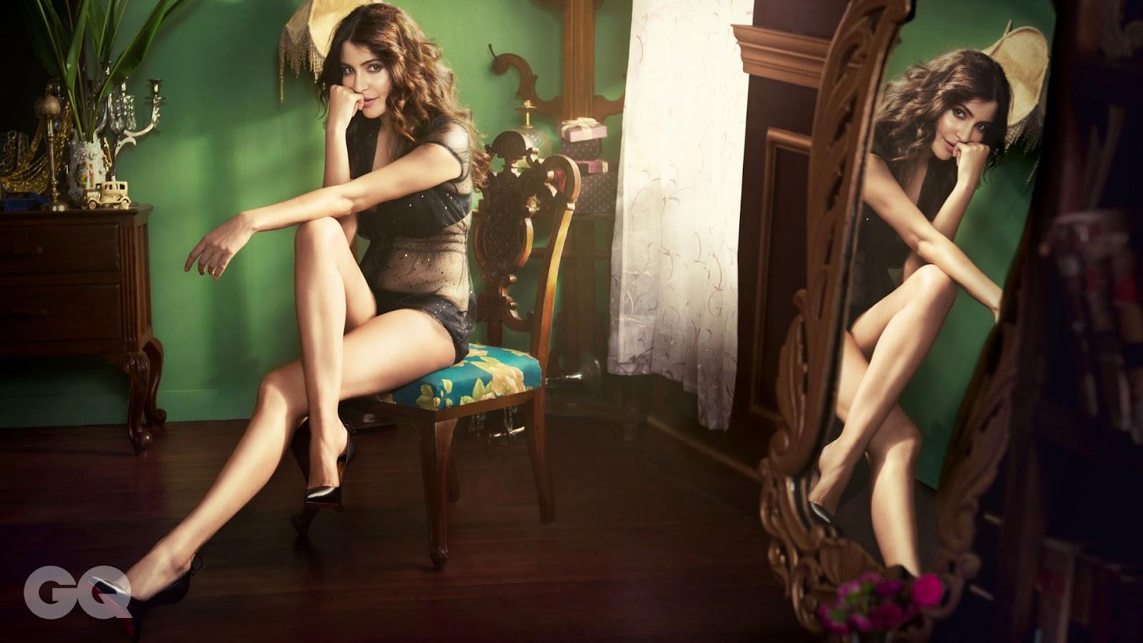 Anushka Sharma Bikini Wallpaper in GQ magazine
