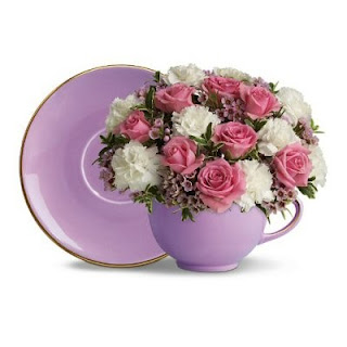 Order a Teacup of Flowers