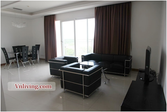Xi Riverview 185 sqm apartment fully furniture 3 bedrooms for rent