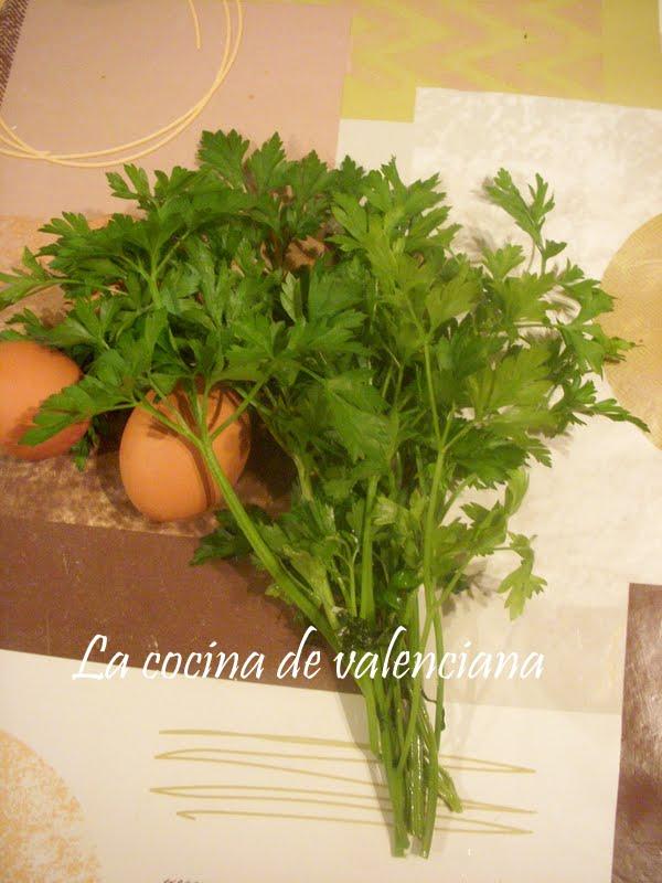 La cocina de valenciana albondigas de bacalao for Cocina valenciana