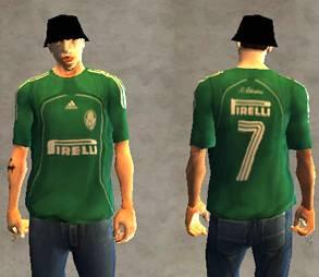Camisa do Palmeiras para Gta