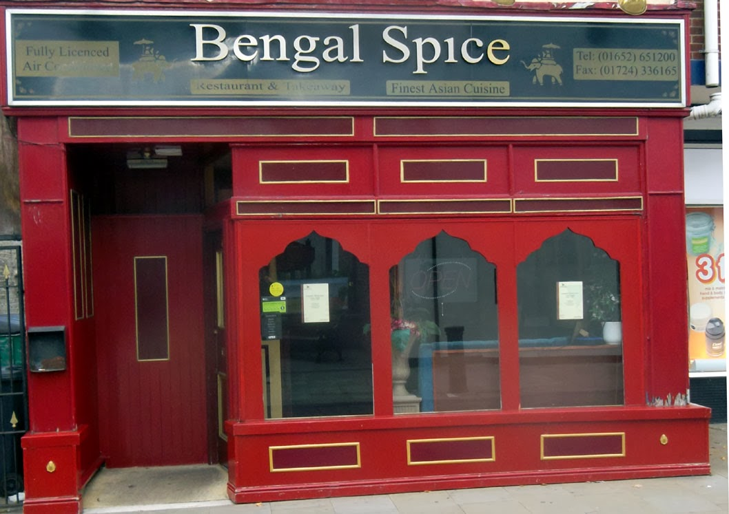 The Bengal Spice Restaurant in Wrawby Street, Brigg