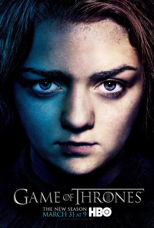 Arya poster 3T - Juego de Tronos en los siete reinos