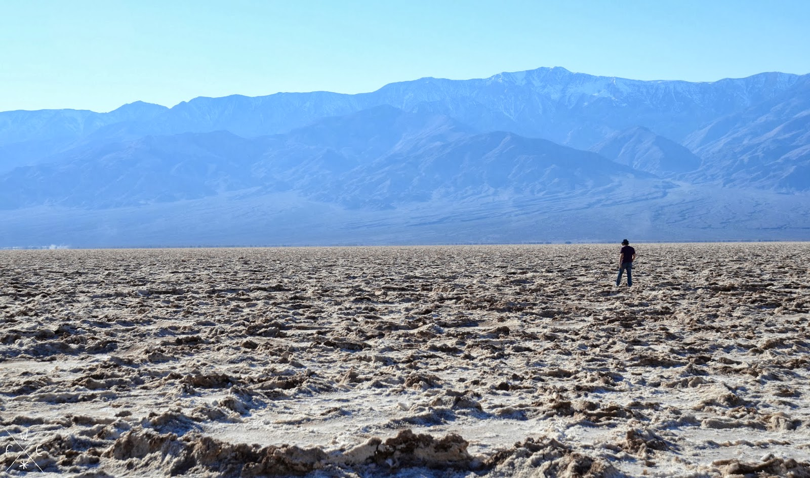 Badwater Basin, Death Valley National Park, Californie, USA