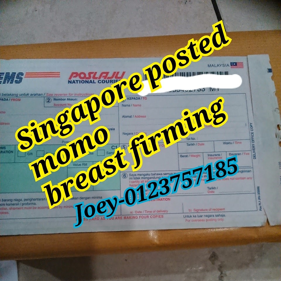 momo breast firming 2 set sold to Singapore