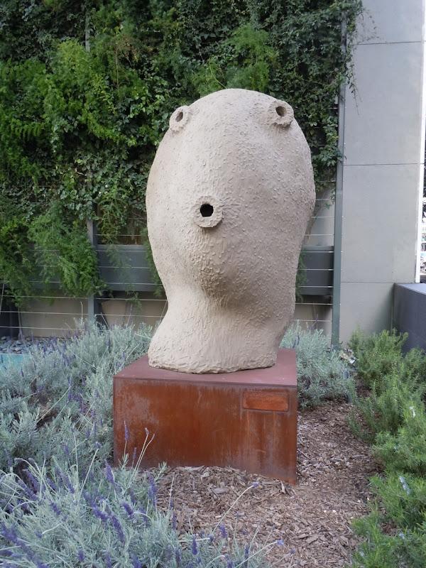 Moonrise December sculpture Ugo Rondinone