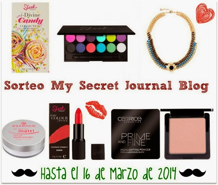 Sorteo en My Secret Journal