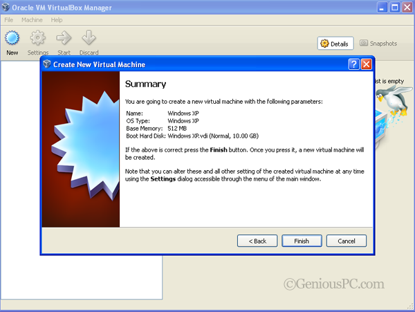 Using VirtualBox To Install an OS