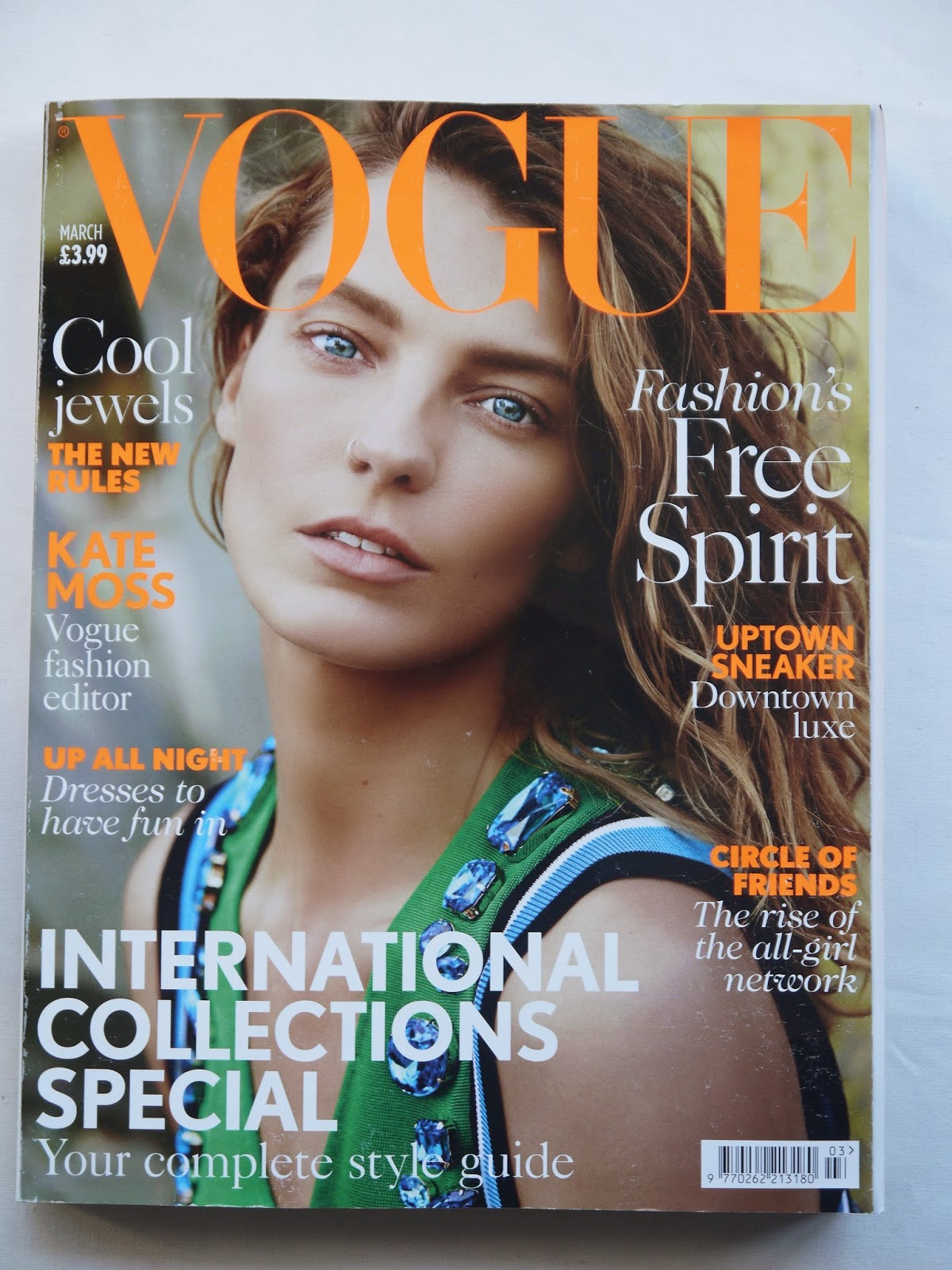 Vogue Magazine - March Edition