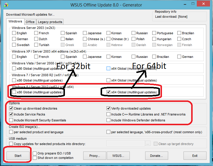 download windows server 2012 updates offline