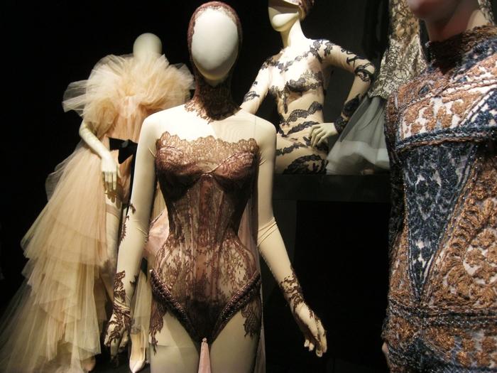 Jean Paul Gaultier Kunsthal Bodysuit Lace Rotterdam