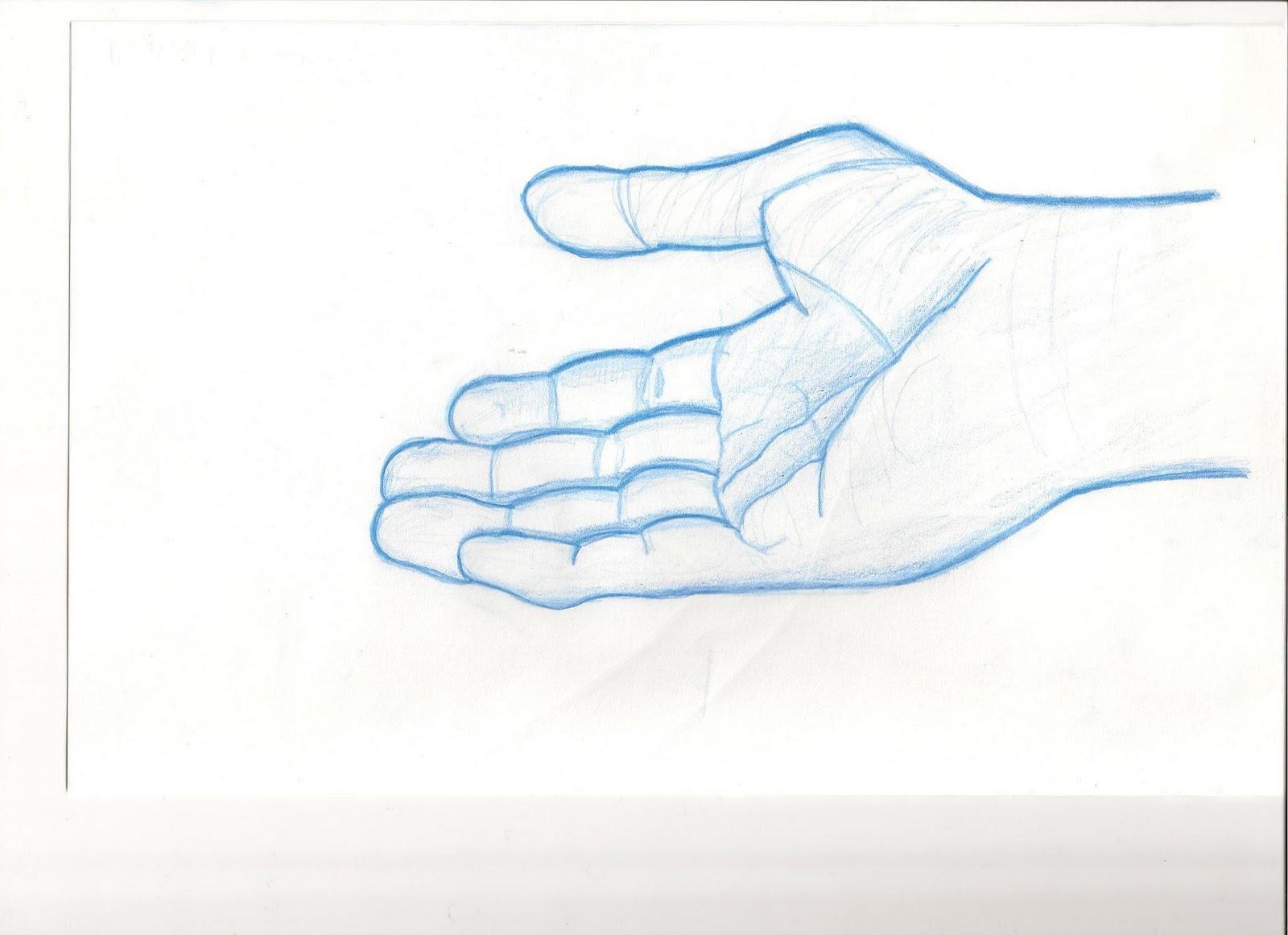Raphael boucher dessins mains cartoon 3 et de 4 doigts - Dessin de doigt ...