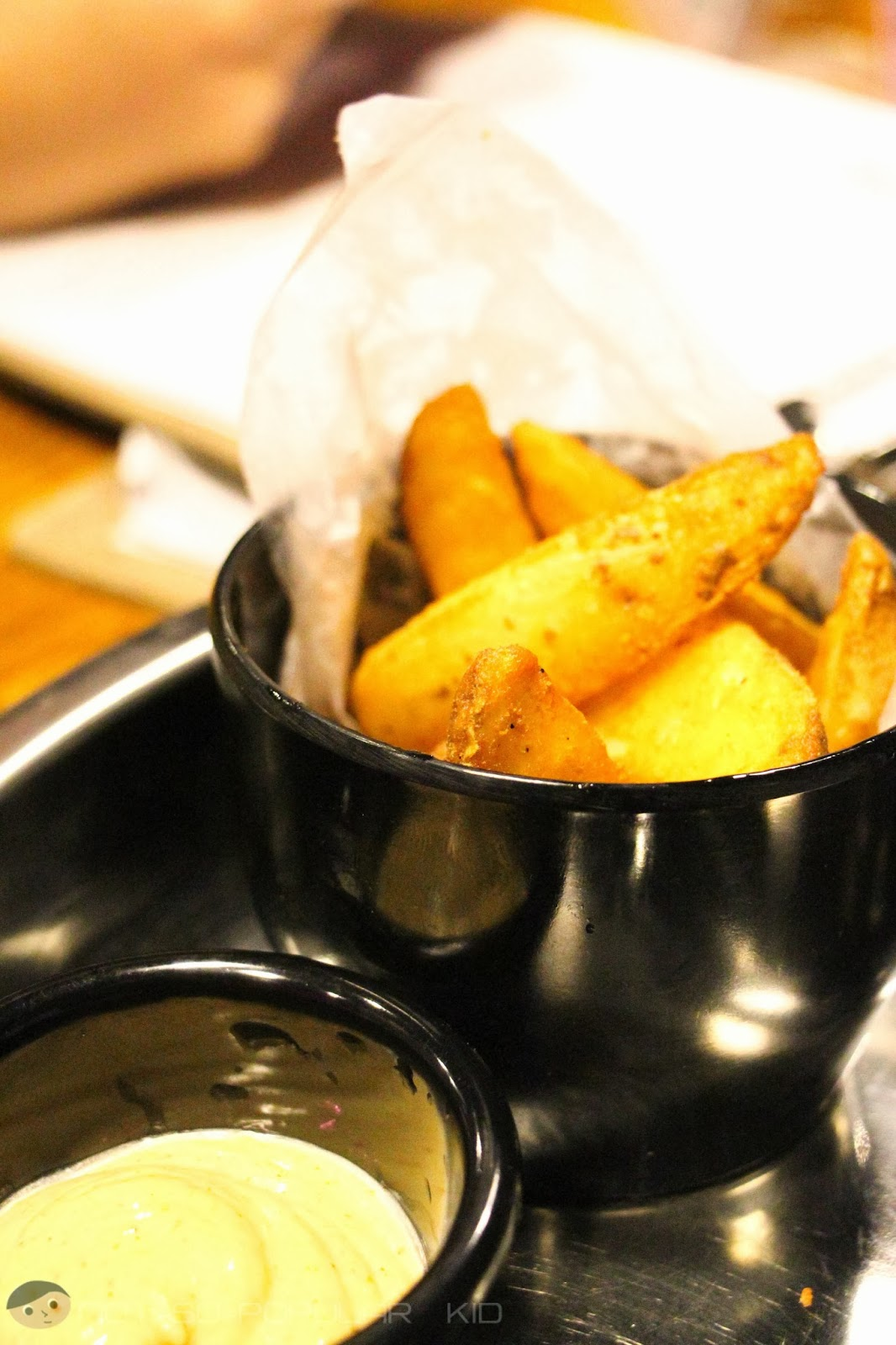 Potato Wedges of Burgers and Brewskies