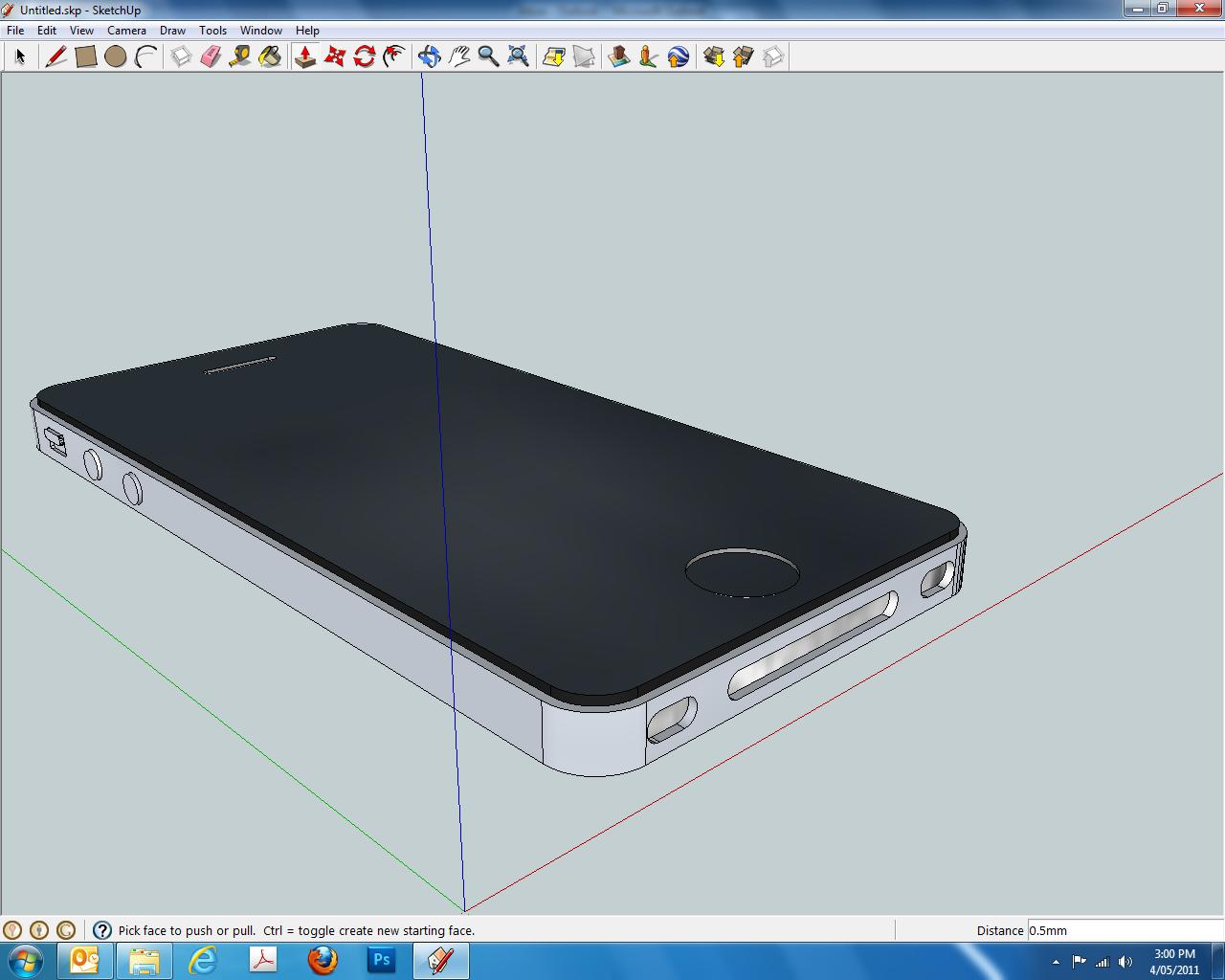 Class Blog Jay S Esc401 Ass4 Iphone Sketchup