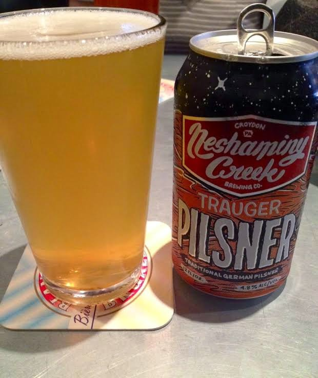 Neshaminy Creek Brewing Company Trauger Pilsner